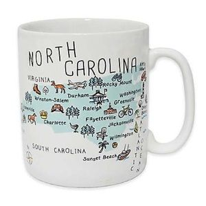 COPY - MY PLACE State North Carolina Jumbo Porcel…
